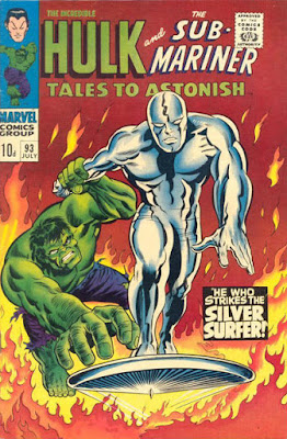 Tales to Astonish #93, Hulk vs Silver Surfer