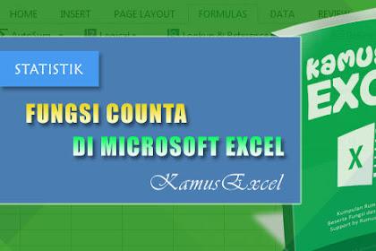 Rumus COUNTA (Fungsi COUNTA) di Microsoft Excel