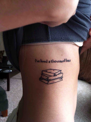 tatuaje libros