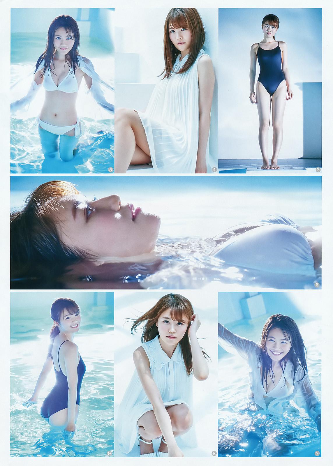 Komiyama Haruka 込山榛香 AKB48, Weekly Young Jump 2016 No.29 Gravure