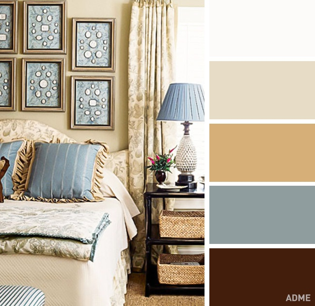 20 perfect color combination in bedroom interior