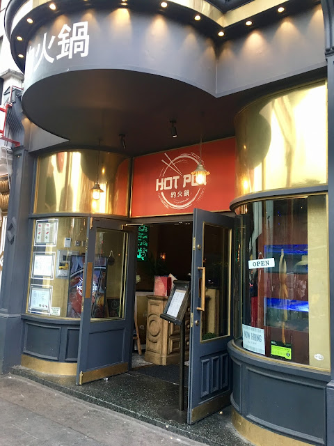 I tried Asian hotpot at Hot Pot Chinatown London