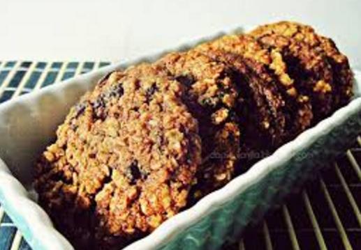 Oat Cookies Crunchy