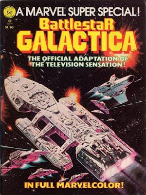 Marvel Super Special #8, Battlestar Galactica