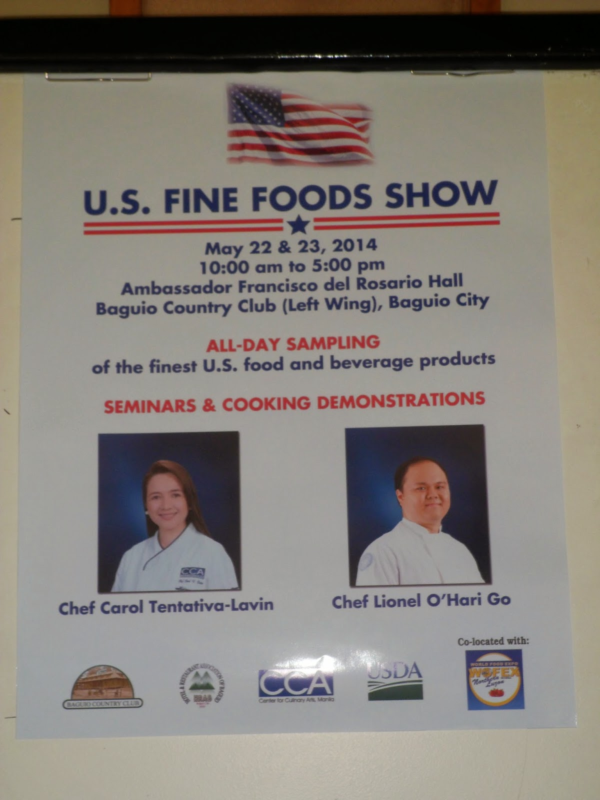 U.S. Fine Foods Show 2014 Invades The City Of Pines