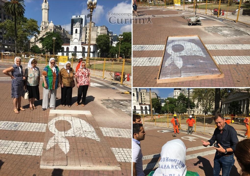 Currín: En el marco de las obras por refacción de Plaza de Mayo ...