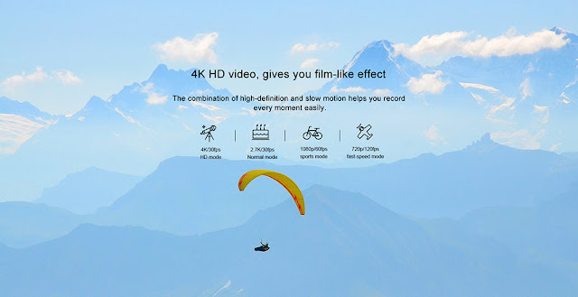 Elephone REXSO Explorer X Action Camera 4K