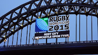 Rugby World Cup Newcastle 2015, Tyne Bridge Rugby World Cup, St James Park Newcastle,Northumbrian Images Blogspot,North East, England,Photos,Photographs
