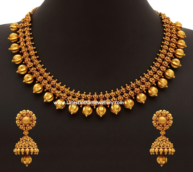 70gms Pure Gold Necklace