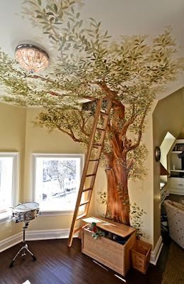 Beautiful & Secret Treehouse Play Room For Kids