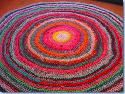 The Sunroom Uk Circular Crochet Rag Rug Tutorial