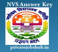 NVS Answer Key