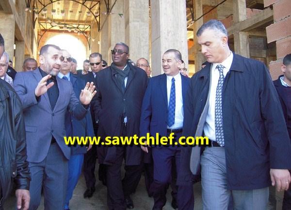 أهم محطات وزير السياحة في زيارته للشلف