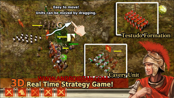 Roman War(3D RTS) Mod Apk for Android