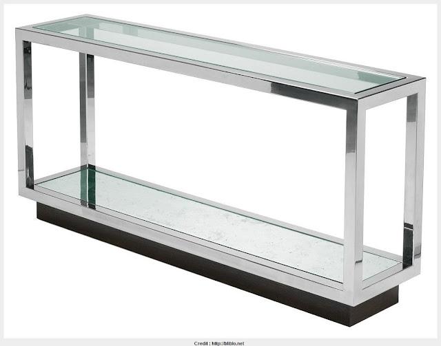 Amazing Narrow Glass Console Table Snapshot