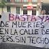 Los 'Sin Techo' se concentraron en la sede del PSOE (Ferraz)