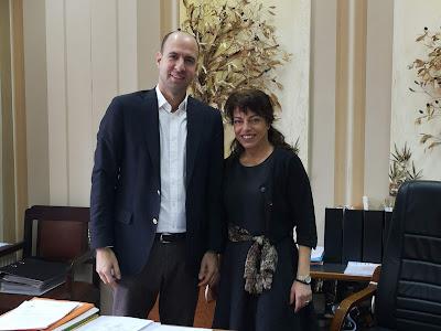 Επίσκεψη του υποψηφίου δημάρχου Νικόλα Κάτσιου στο Δημαρχείο Σουλίου