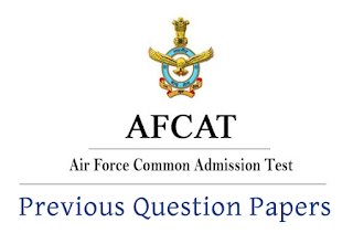 AFCAT Previous Papers