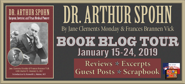 Dr. Arthur Spohn book blog tour promotion banner