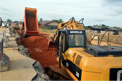 Governor Emmanuel's unrelenting drive in urbanizing Eket