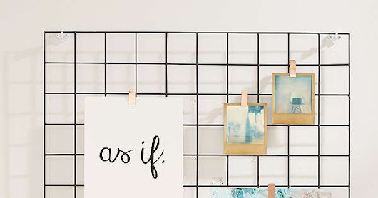 Make Your Own Wire Wall Grid