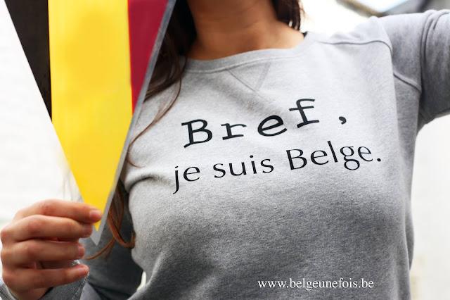 Pull Belge une fois