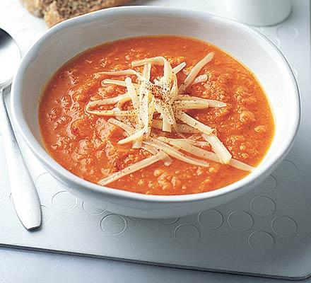 Sweet Potato & Chilli Soup Recipe (BBC Good Food)