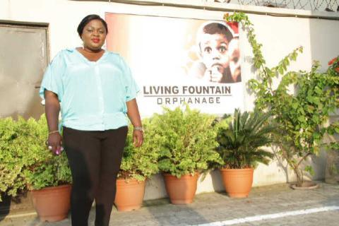 eniola badmus birthday orphanage