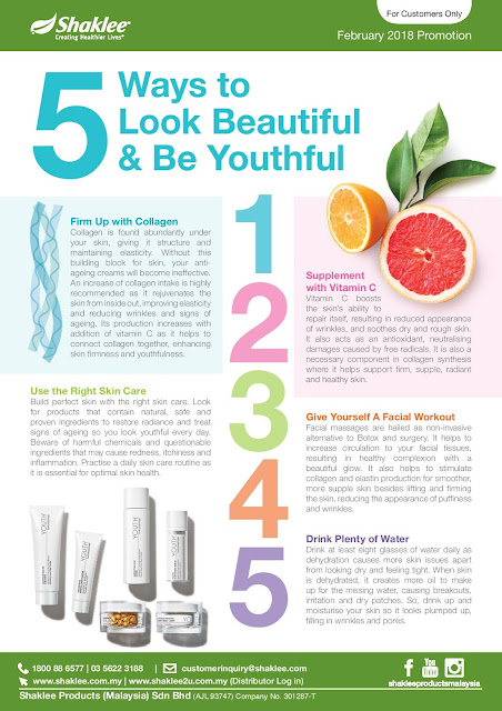 5 ways to look beautiful and be youthful