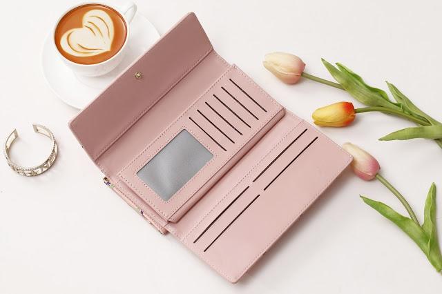 Jims Honey Titan Wallet Pink