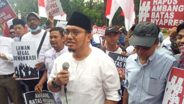 Dahnil Anzar Ungkap Alasan Gabung ke Prabowo - Sandi, dan Tolak Jokowi