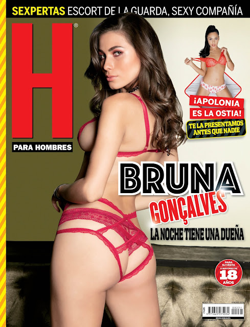 Bruna Gonçalves Revista H Agosto 2018