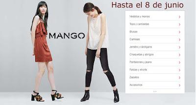 Ropa barata para mujer de la marca Mango