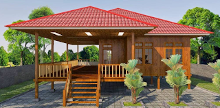 Desain Rumah Panggung Modern 2016 1