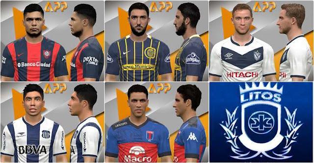 5 Faces Futbol Argentino PES 2017