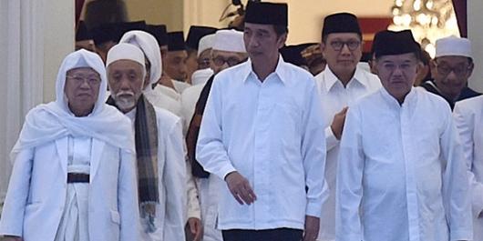 Quick Count Sementara Litbang Kompas: Jokowi 55,37% Prabowo 44,63%