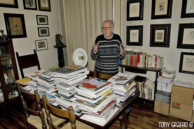 Enrico Cattaneo e libri d'arte che pubblicano le sue fotografie