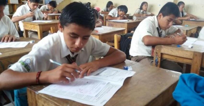 Más de 50 mil estudiantes rinden evaluación en la región San Martín - www.dresanmartin.gob.pe