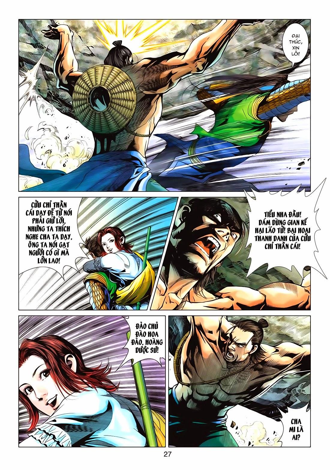 Anh Hùng Xạ Điêu anh hùng xạ đêu chap 72: ngư tiều canh độc trang 27