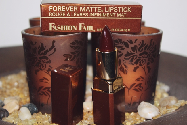 Fashion Fair Forever Matte Lipstick in Forever raisin