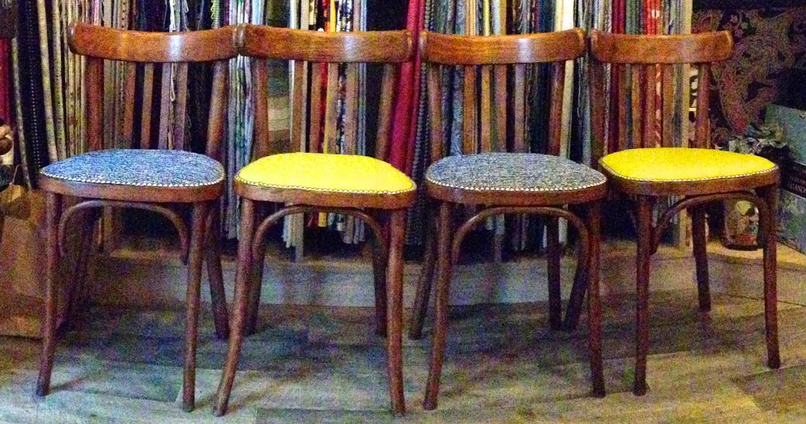 atelier anne lavit artisan tapissier d corateur 69007 lyon chaises bistrot. Black Bedroom Furniture Sets. Home Design Ideas