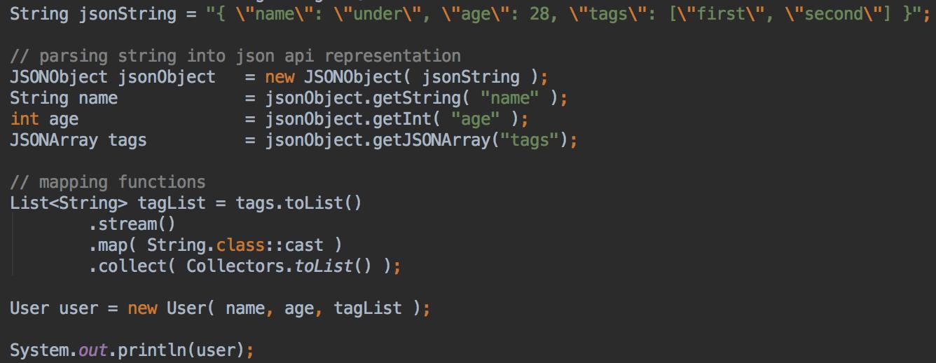 Java] Parser un flux JSON | Technical Lead Blog