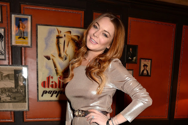 Lindsay Lohan is reportedly dating a younger real estate agent