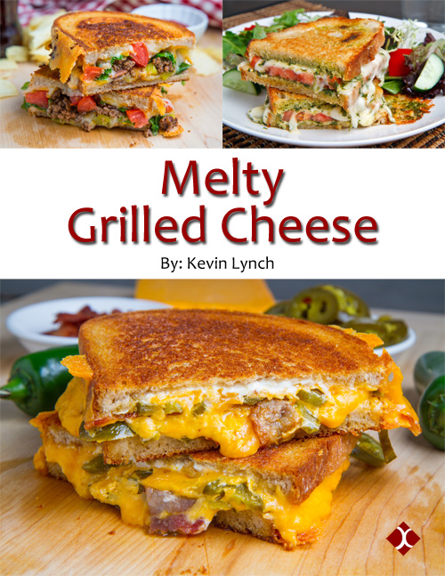 New Cookbook: Melty Grilled Cheese
