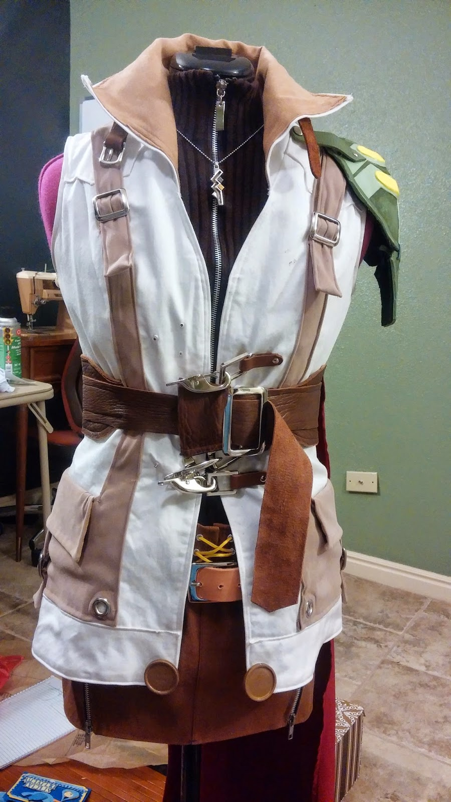 lightning cosplay belt final fantasy xiii