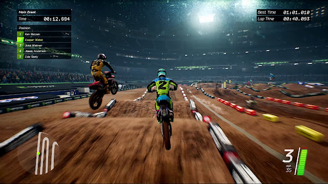 Download Monster Energy Supercross The Official Video Game + Update DLC Full Version