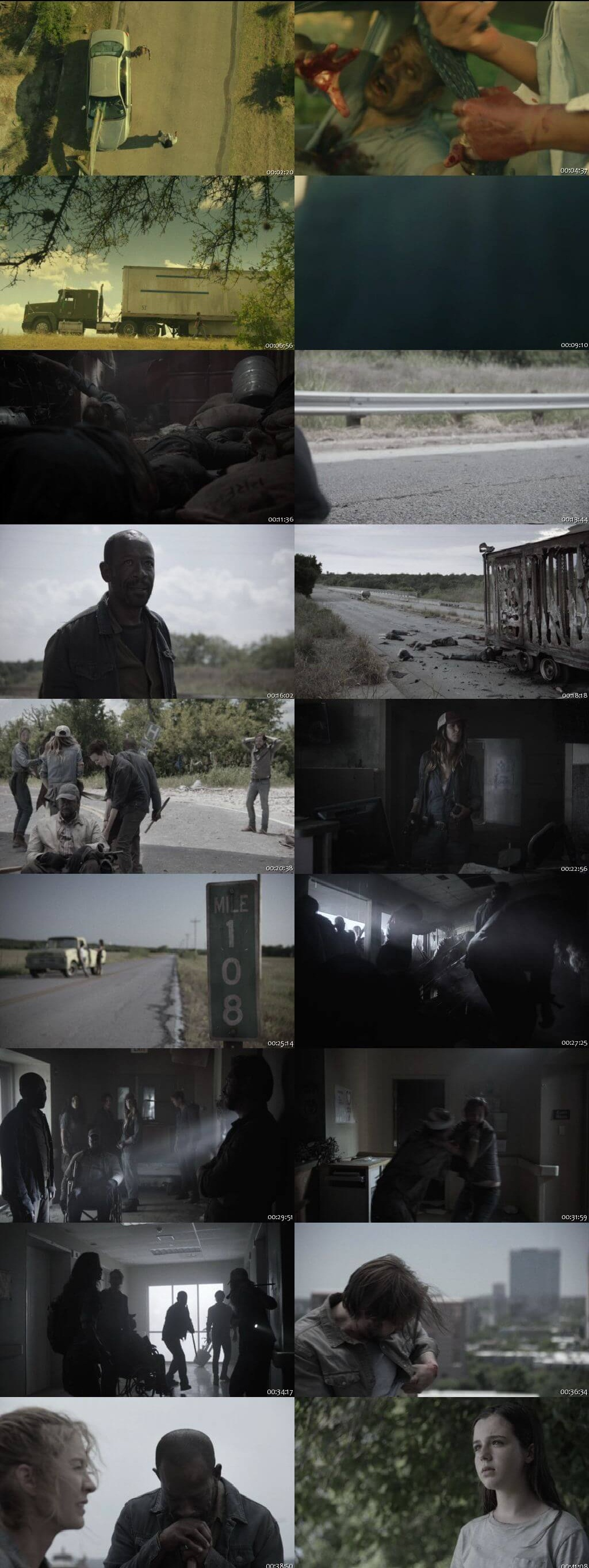 Screenshots Of English Show Fear the Walking Dead Season 04 Episode 14 2018 WEB-DL 720P 300MB
