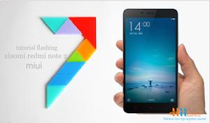 Flashing Xiaomi redmi note 2 4G miui 7 global stable rom