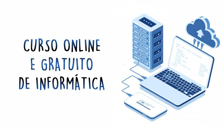 Curso de Informática Básica online e gratuito - COM CERTIFICADO
