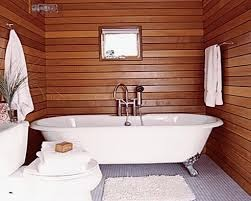 Decorar baño con madera